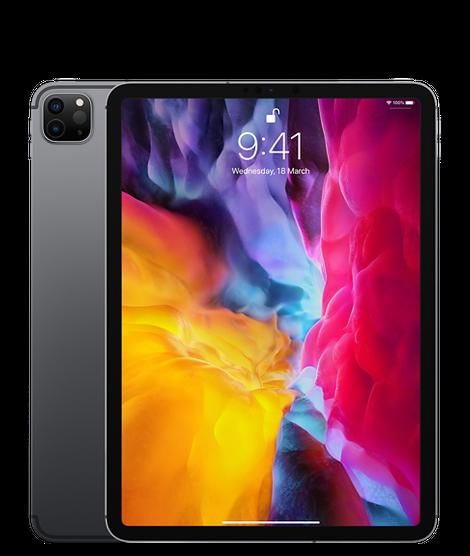Apple iPad Pro 11-inch, Wi-Fi+Cellular 1TB,2021 Silver ...